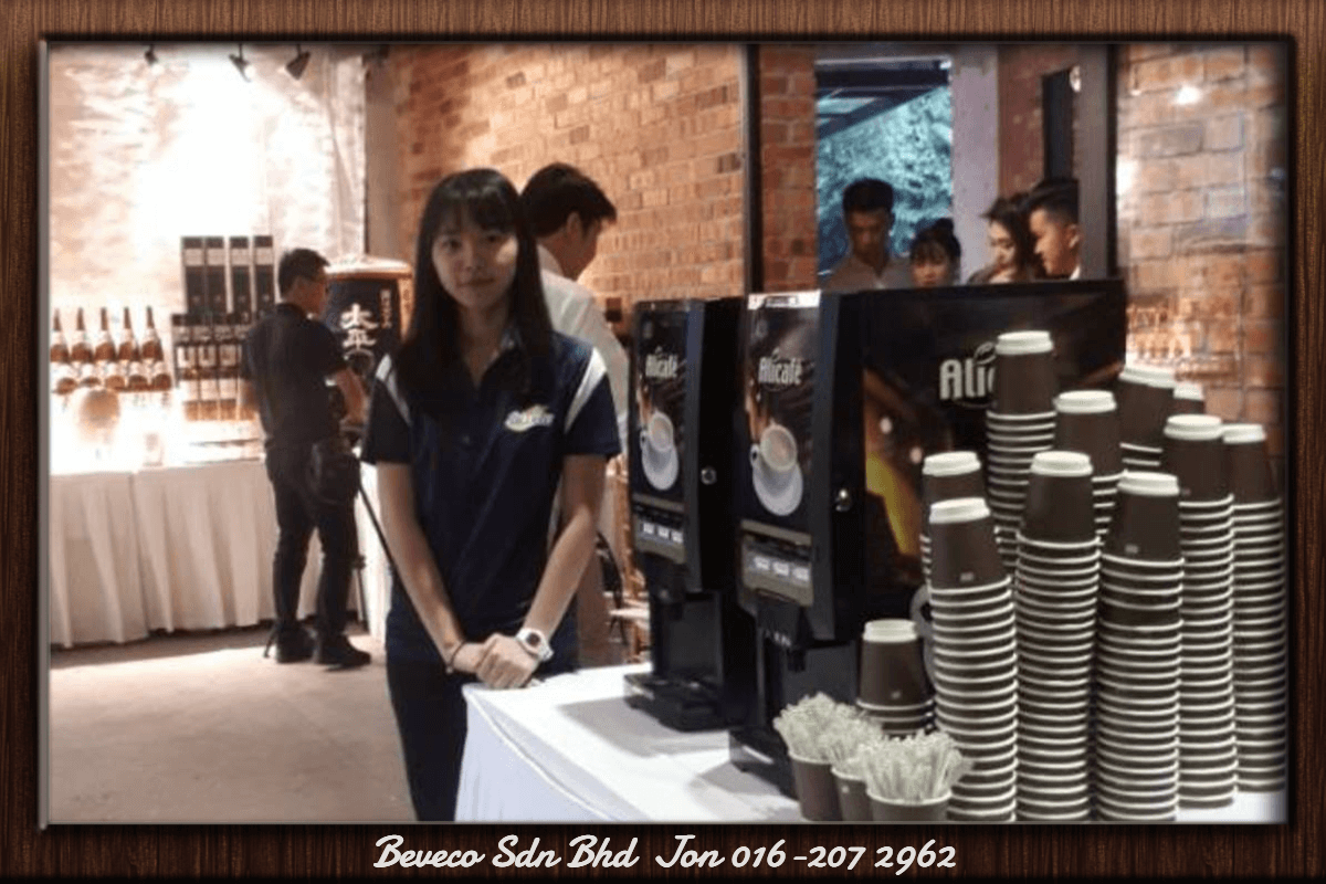 Coffee Machine Rental With Server in KL