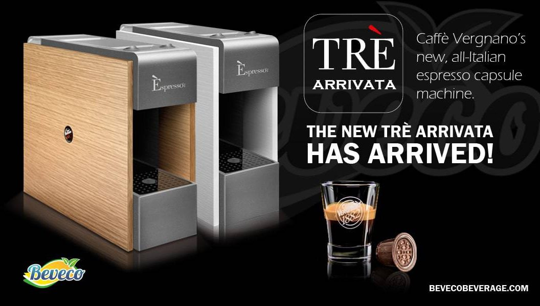 Tre Arrivata Coffee Capsule Machine Malaysia