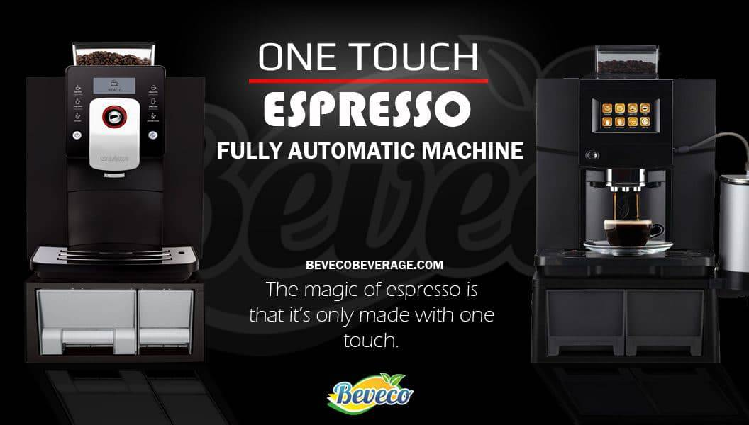 One Touch fully auto coffee machine